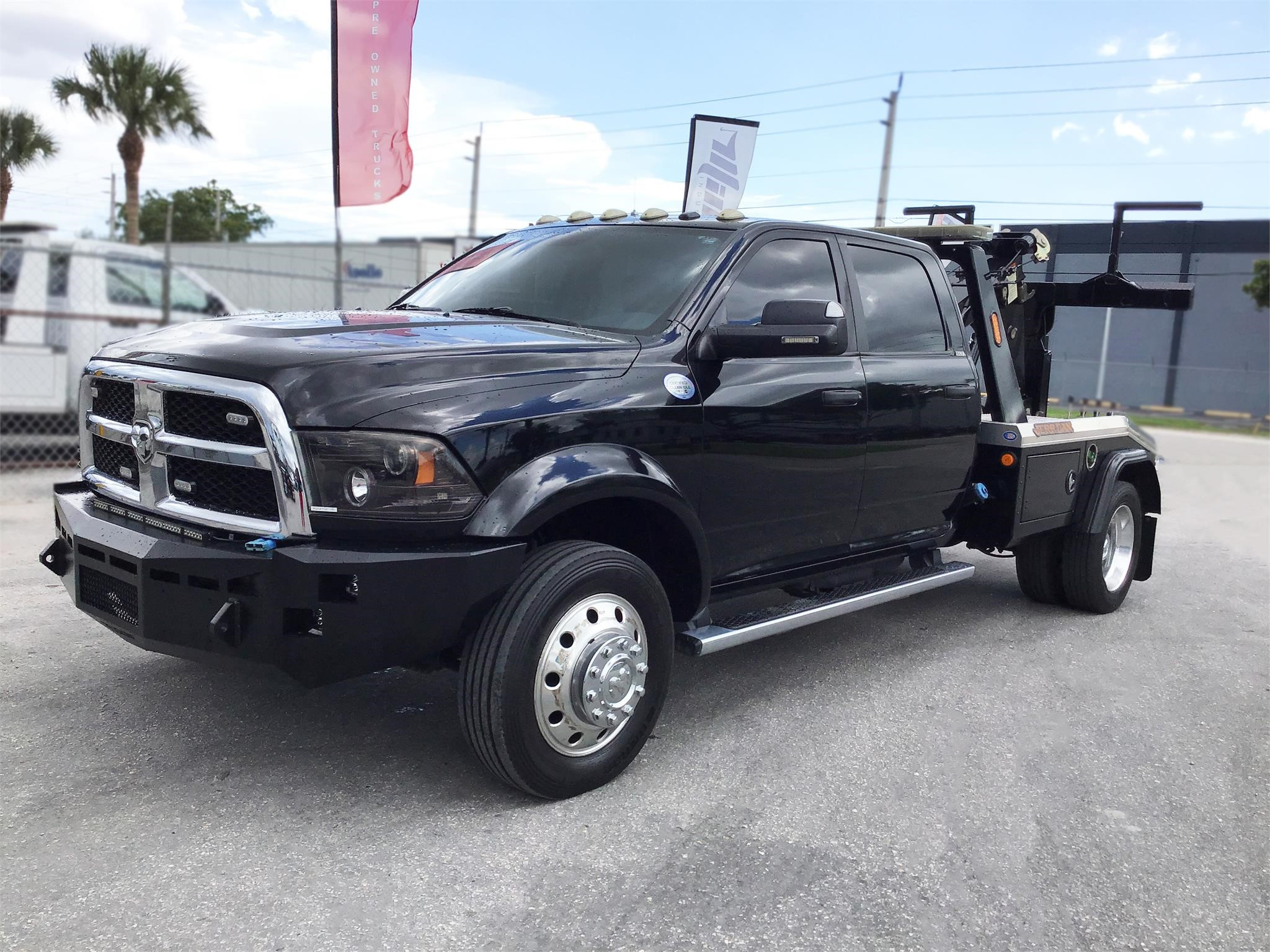Dodge Ram 2015 >> Pre Owned 2015 Dodge Ram 5500 Medium Duty Trucks Tow Trucks Wrecker