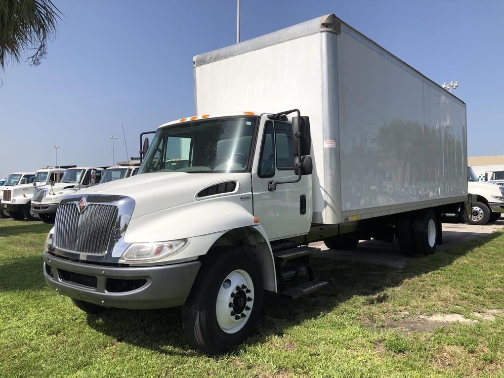 Pre-Owned 2015 INTERNATIONAL DURASTAR 4300 Medium Duty Trucks - Van Trucks  / Box Trucks - Dry Cargo-Delivery