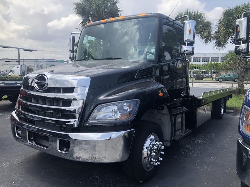 New 2020 HINO 258 Medium Duty Trucks Tow Trucks Roll